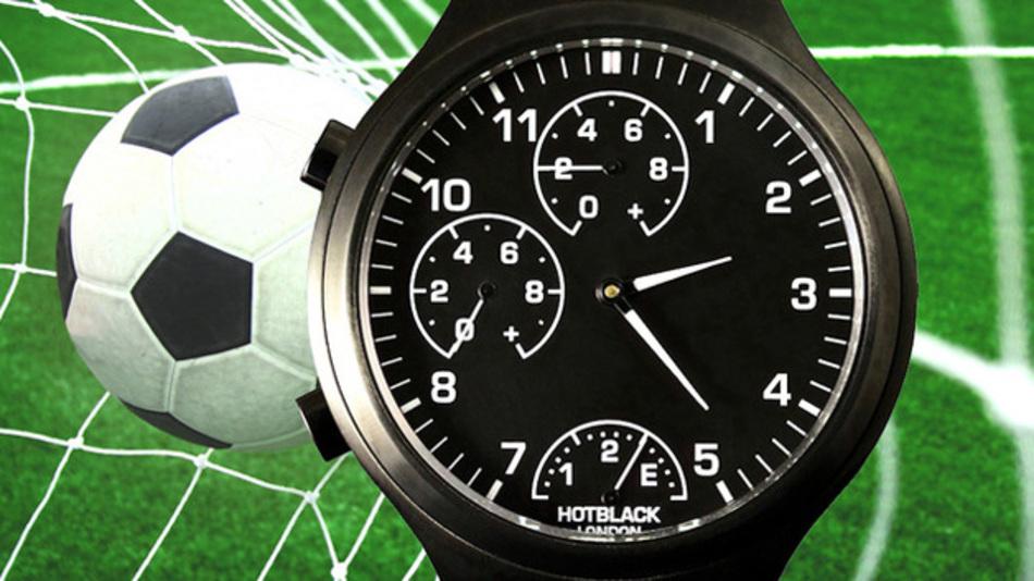 Fußball-Smartwatch HotBlack