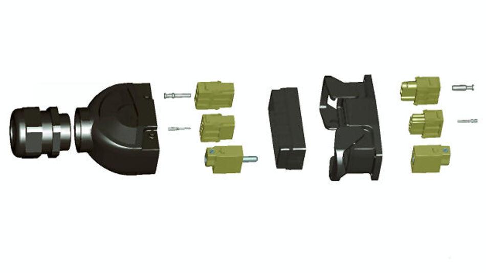Han-Fast Lock für den Leiterplattenanschluss