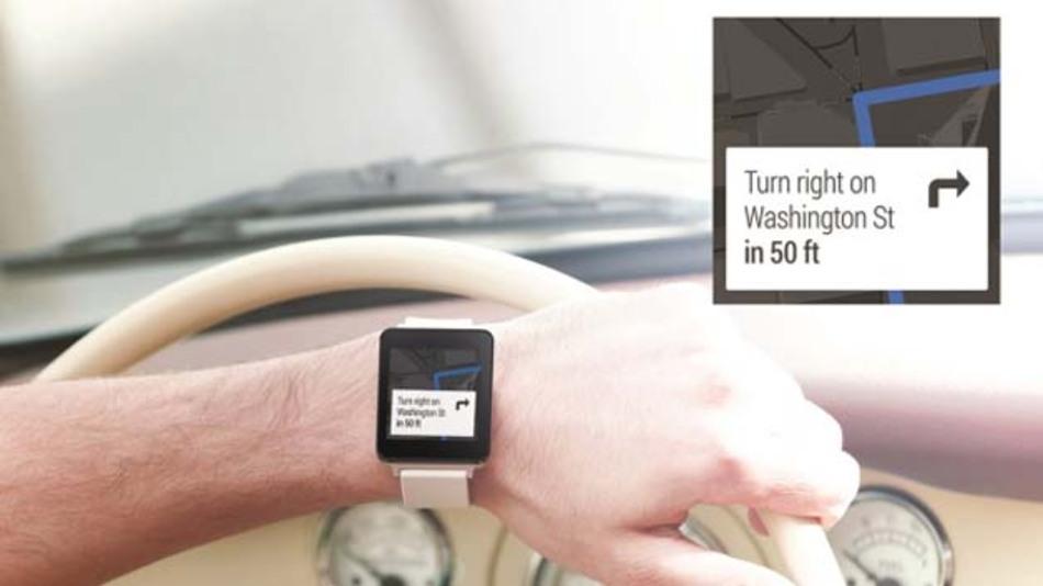 Die LG G Watch ist eines der ersten Geräte mit Googles Betriebssystem Android Wear speziell für Wearables.