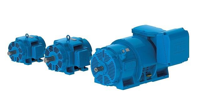 Trotz ihrer Kompaktheit bieten die W40-Motoren eine hohe Effizienz und Leistung für viele Anwendungen, etwa für Kompressoren, Lüfter und Pumpen.