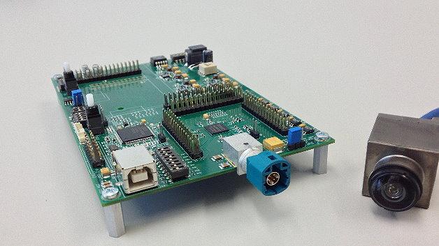 Robuste Digital-HDR-Kameras sind durch Nutzung des APIX2-Mehrkanal-SerDes für Automobilanwendungen optimiert.