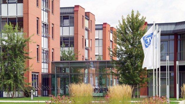 Die Konzernzentrale von ZF in Friedrichshafen am Bodensee.