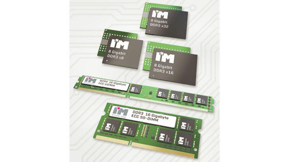 8-Gb-DDR3 Bausteine von I'M Intelligent Memory