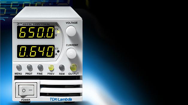 TDK-Lambda bringt mit der Serie »Z+ High Voltage« programmierbare Labornetzteile für Ausgangsspannungen von 160, 320 und 650 V<sub>DC</sub> auf den Markt.