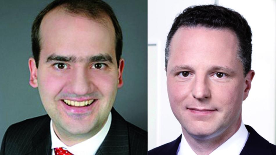 Prof. Dr. Matthias Lütge Entruß (links) und Dr. Bernhard Höveler von Höveler Holzmann Consulting