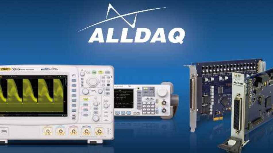 Alldaq wurde als neue Business-Unit der Allnet GmbH Computersysteme gegründet. Der Name ist dabei Programm, denn »DAQ« steht für »Data Acquisition« und deckt den kompletten Bereich »Messen & Steuern« ab.
