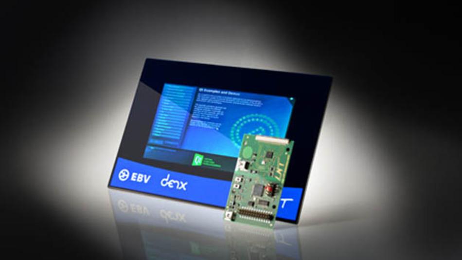 Mit dem Touch Evaluation Kit von EBV und LNT kann das Verhalten von kapazitiven Sensoren evaluiert werden.