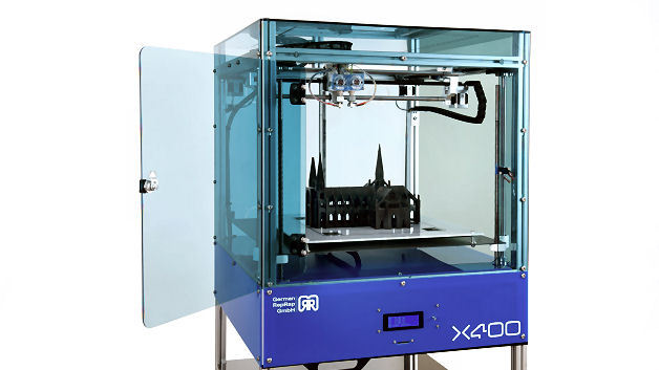 3D-Drucker X400 CE als PRO-Edition