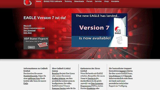 Die neue Version von CadSoft EAGLE
