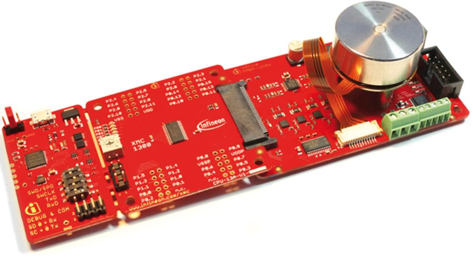 Bild 1: Das »XMC1000 Motor Control Kit« unterstützt unterschiedliche Motorregelungsschemata