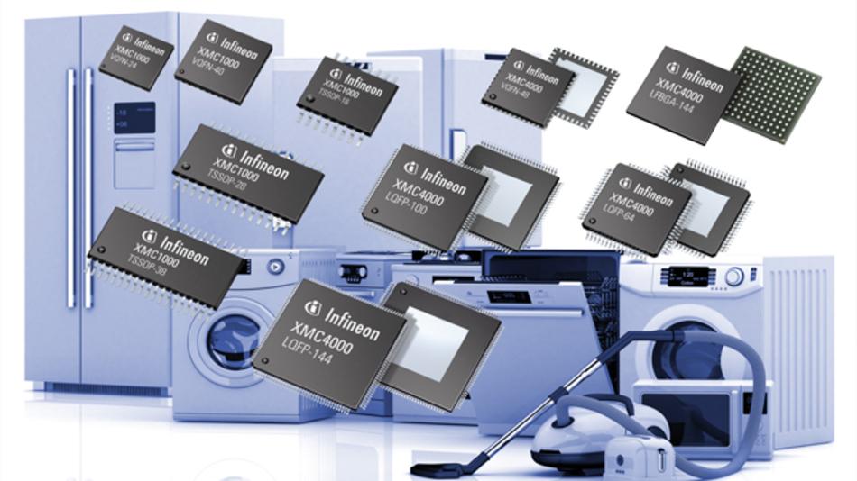 Bild 4: Auf die Anwendung in Haushaltsgeräten und deren Sicherheitsanforderungen gemäß IEC 60370 Class B zielt die vom VDE zertifizierte Selbsttestbibliothek, die für die 32-Bit-Mikrocontroller der XMC1000- und XMC4000-Familien zur Verfügung steht