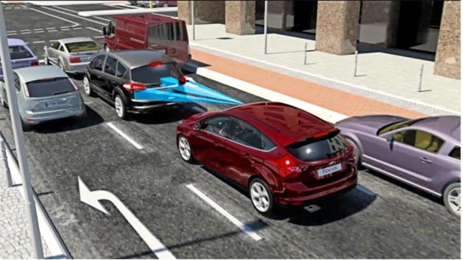 Der Notbremsassistent Active City Stop von Ford arbeitet jetzt im Bereich von 50 km/h.