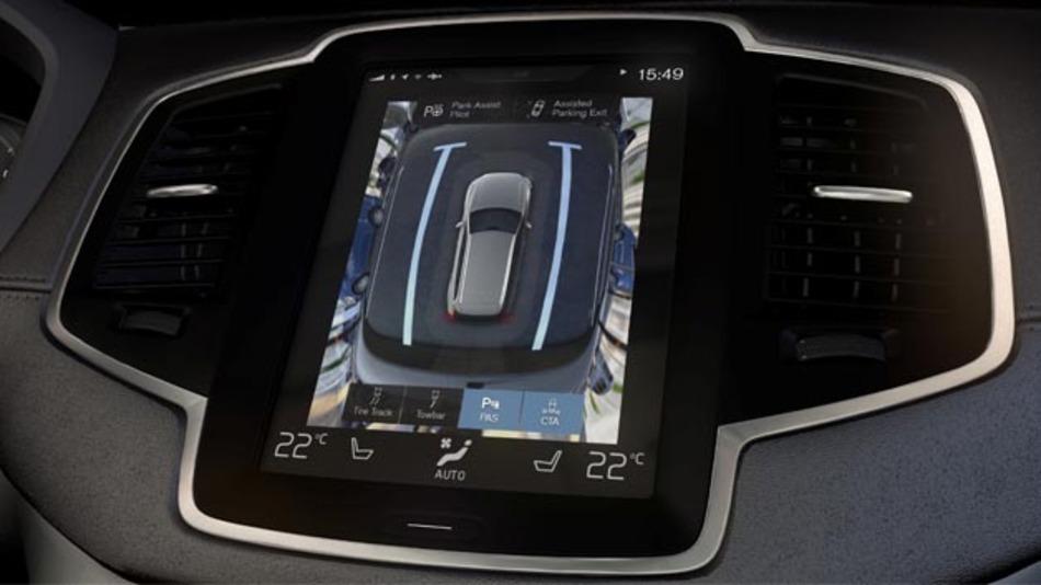 Die 360-Grad-Rundumsicht ist vor allem dann nützlich, wenn das direkte Sichtfeld des Fahrers eingeschränkt ist.