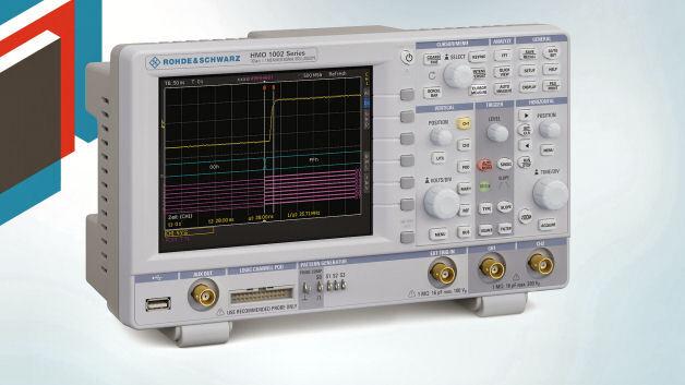 Neu beim Elektronikdistributor Distrelec ist das Oszilloskop HMO1002