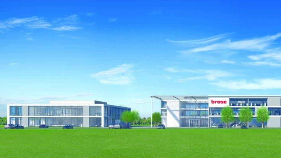 An der Breitenau in Bamberg baut der internationale Automobilzulieferer Brose ein Verwaltungsgebäude mit Sozialtrakt. Die Fertigstellung ist Ende 2015 geplant.
