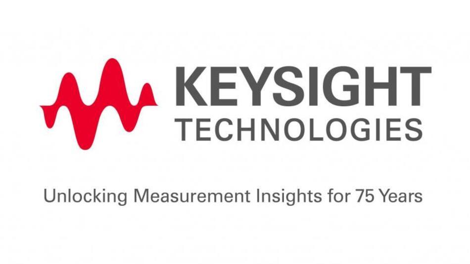 Das Logo von Keysight Technologies, des von Agilent demnächst ausgegliederten Elektronik-Messtechnik-Bereiches, visualisiert mit der Wellenform den Kernbereich der Unternehmens-Aktivitäten. (Quelle: Agilent Technologies)