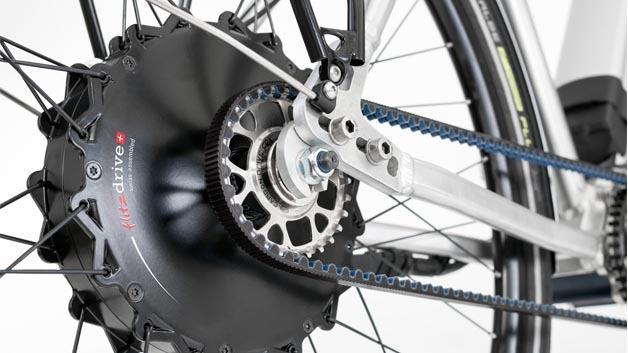 GoSwiss Drive Motor mit Gates Carbon statt Kette.