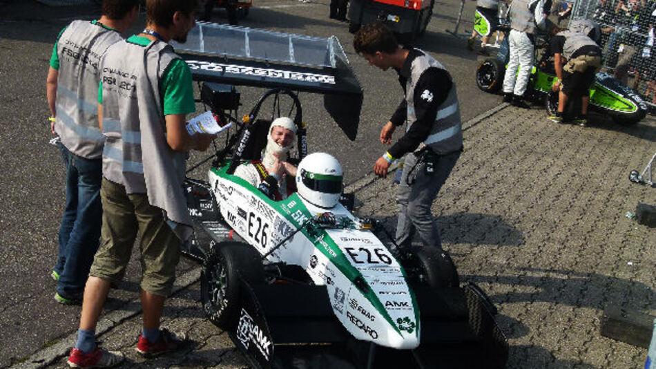 RS Components setzte auch 2014 auf Formula Student