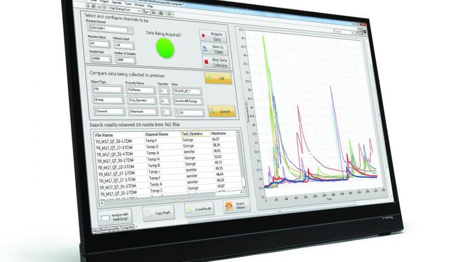 Die Systemdesignsoftware LabVIEW 2014 bietet neue Funktionen zur Erfassung, Analyse und Darstellung beliebiger Datensätze unabhängig von Ort und Zeit.