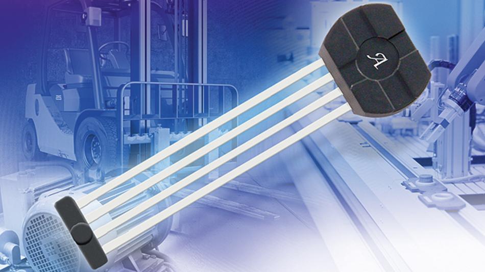 Der Sensor-IC »ATS605« erfasst sowohl Drehzahl als auch die Rotationsrichtung von ferromagnetischen Zahnrädern.