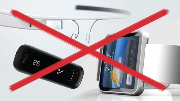 Schwere Zeiten für Wearables: Trotz des medialen Hypes halten die meisten Deutschen solche Gadgets für unnötig.