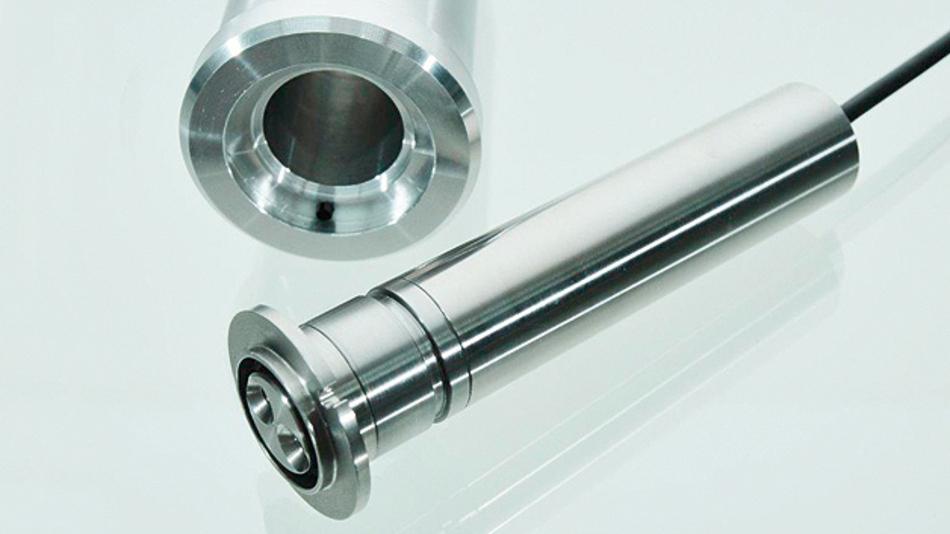 Der Drehgeber »TBX37« von TWK-Elektronik bietet eine Wellenbelastbarkeit bis 500 N radial und 100 N axial bei einem Gehäusedurchmesser von 25 mm.