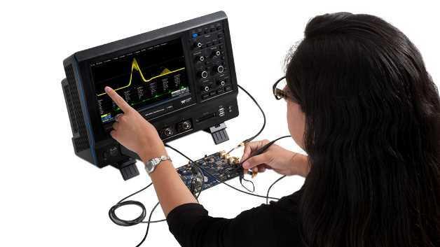 Das MAUI User Interface wurde speziell für die Touchscreen-Bedienung entwickelt.
