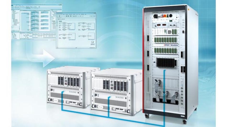 Scalexio ist der aktuelle Hardware-in-the-Loop-Simulator von dSpace.