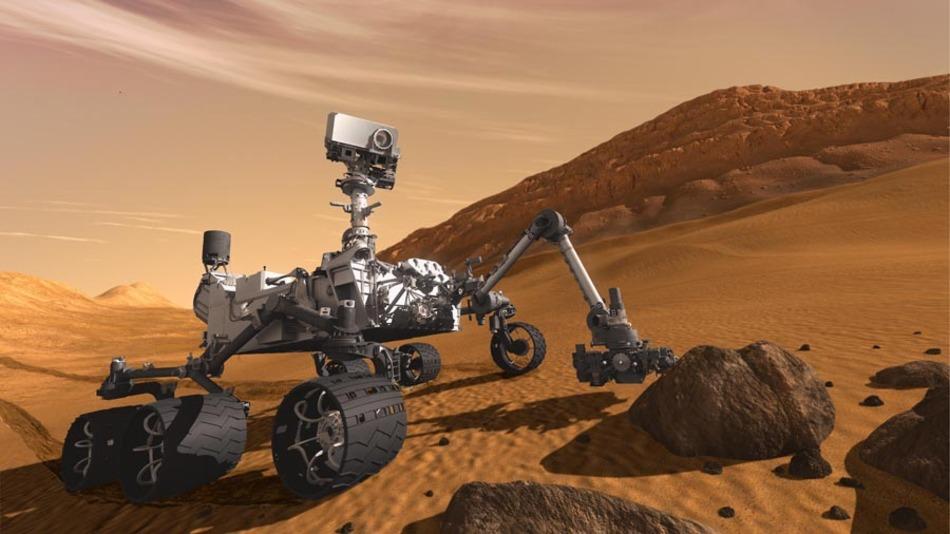 Der Mars Rover »Curiosity«, gesteuert mit VxWorks, ist eines von Wind Rivers bekanntesten Software-Projekten.