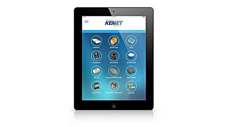 Elektronikbauelemente-App für das iPad