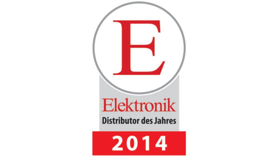 Leserwahl zum Elektronik-Distributor des Jahres 2014.