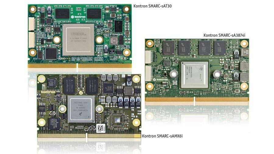 SMARC-Module gibt es mit x86- und ARM-Prozessoren.