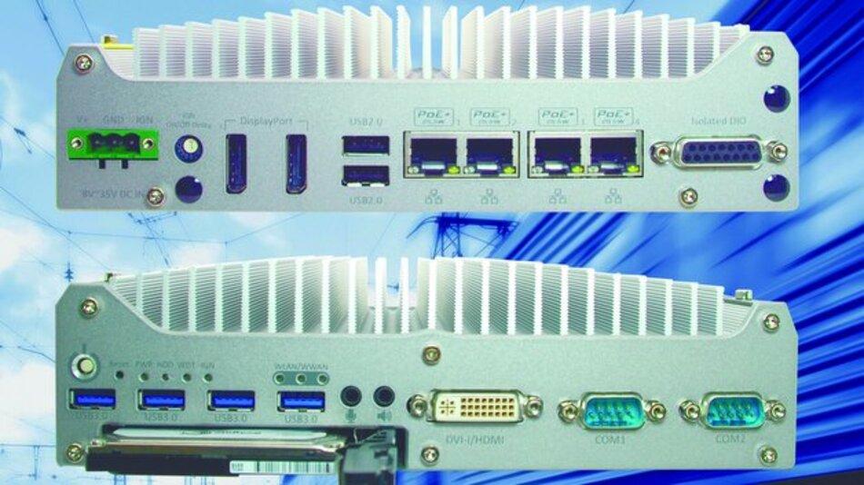 Der Embedded Controller NUVO-3100VTC ist für den Betrieb in Fahrzeugen konzipiert.