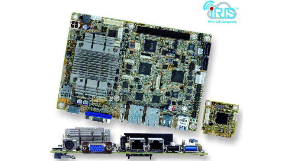Das kleine »Iris-1010«-Modul vereinfacht die Verwaltung und Wartung des EPIC-SBCs.