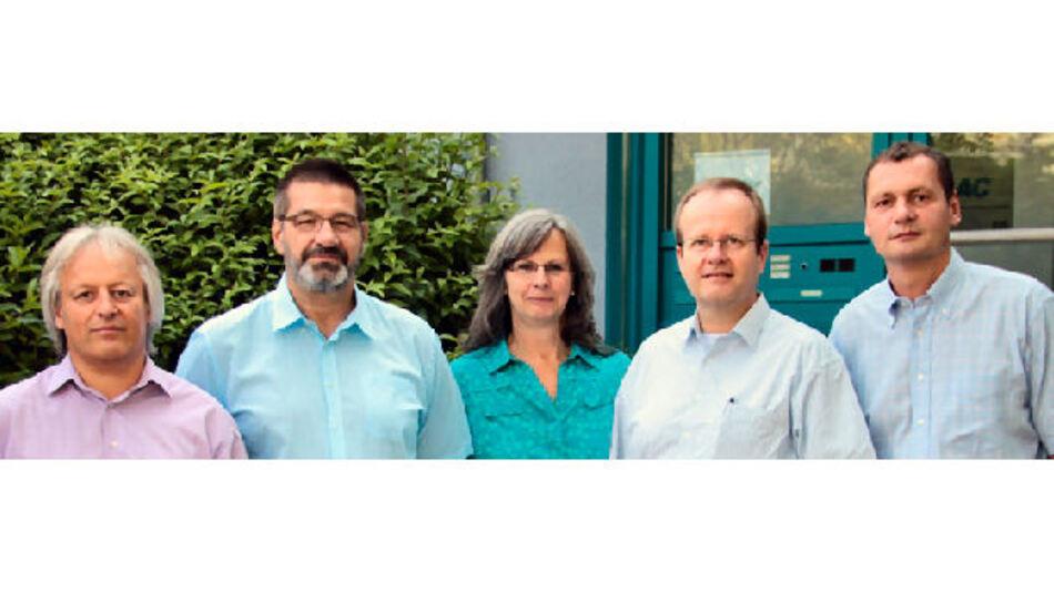 Team des neuen Autosplice-Kompetenzzentrums: Thomas Rehm, Martin Mühr, Petra Mühr, Frank Ihlefeldt, Robert Fuchs (v.l.n.r.).