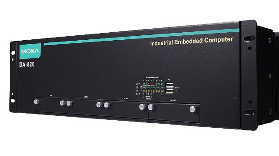 Für »smarte« Umspannstationen sind die Computer der Serie DA-820 von Moxa mit PRP/HSR-Protokoll ausgelegt.