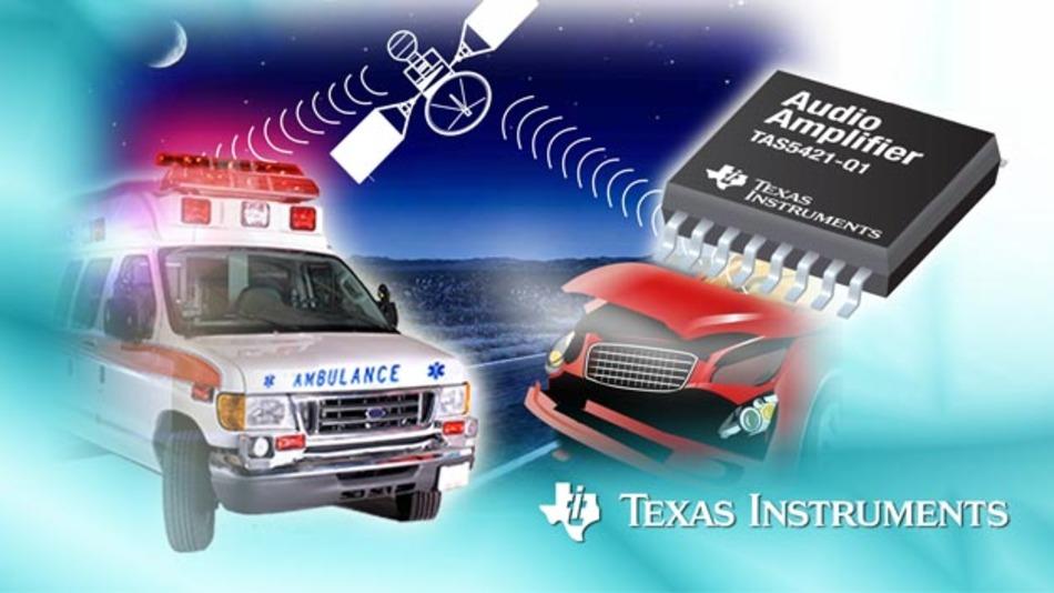 Der TAS5421-Q1 von Texas Instruments.