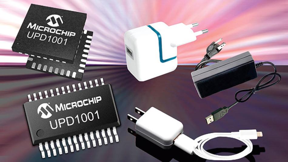 Dank »USB Power Delivery« können auch stärkere Verbraucher wie Notebooks, Batterieladegeräte oder Tablets über USB versorgt und ¬geladen werden. Microchip bringt einen passenden Ladecontroller auf den Markt.