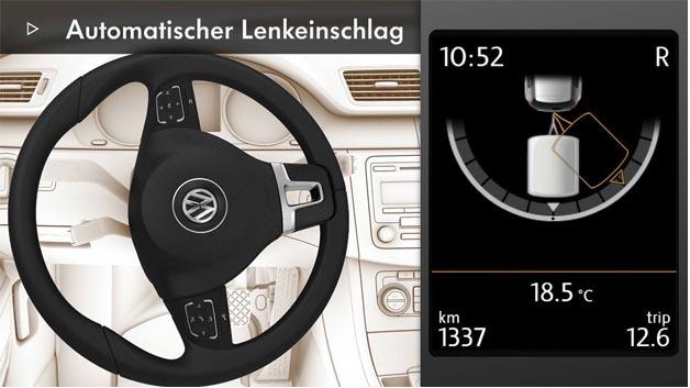 Mit Hänger unterwegs? Zumindest für den Volkswagen Passat mit Trailer Assist ist das Rangieren kein Problem mehr.