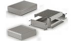 Aluminiumgehäuse für 100 mm breite Leiterplatten