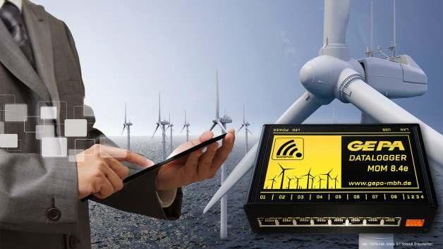 Condition Monitoring Systemen der MOM Serie von GEPA mbh München