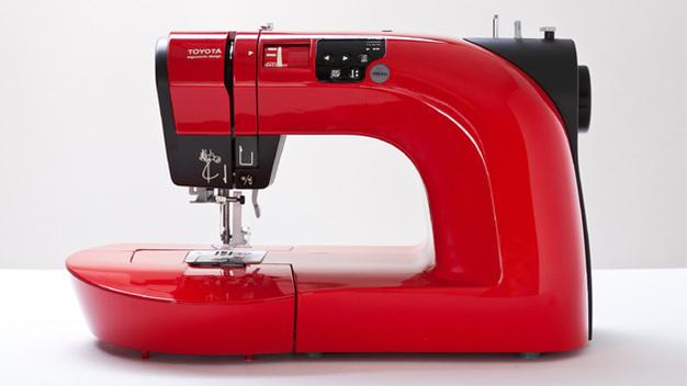 toyota premiere die zeichnende n hmaschine. Black Bedroom Furniture Sets. Home Design Ideas