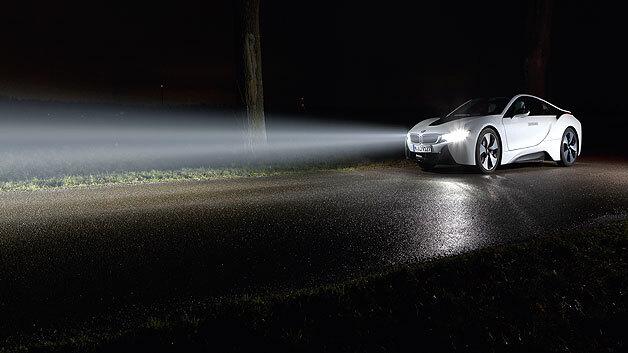 Fernlicht auf Laser-Basis hat eine besonders hohe Reichweite.
