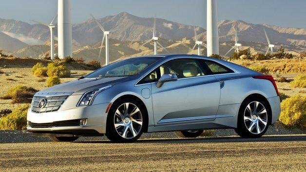 Zurückhaltung sieht anders aus: Der Cadillac ELR sticht optisch aus der Masse hervor.