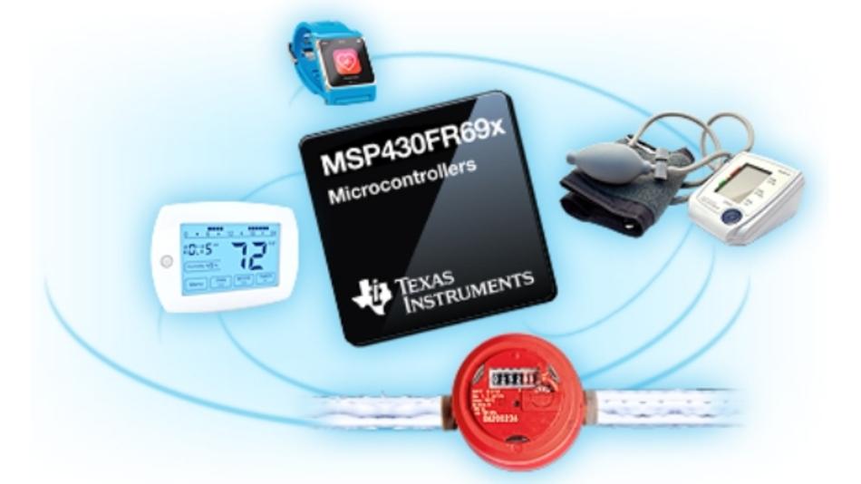 Durch die analoge Peripherie eignen sich die MCUs der Serie »MSP430FR69x« von Texas Instruments für Verbrauchsmesser wie auch Fitness- und Wearable-Anwendungen.