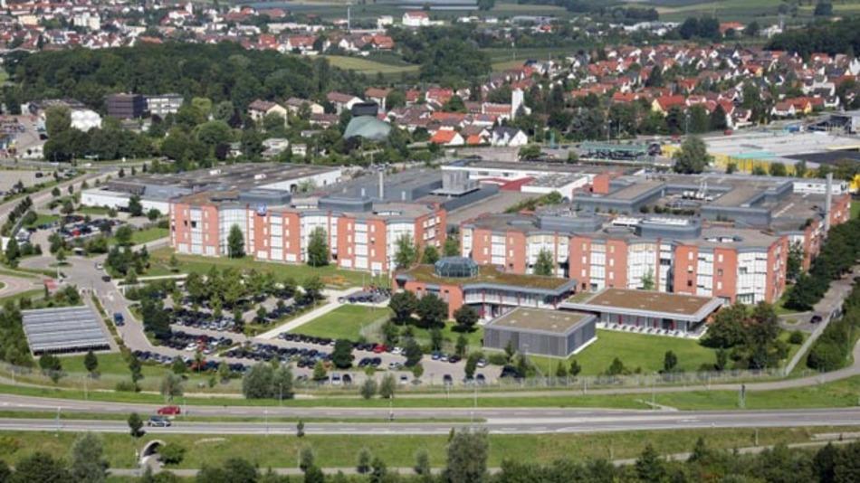 Luftaufnahme ZF Friedrichshafen AG. Der Hersteller pusht seine Übernahmepläne von TRW.