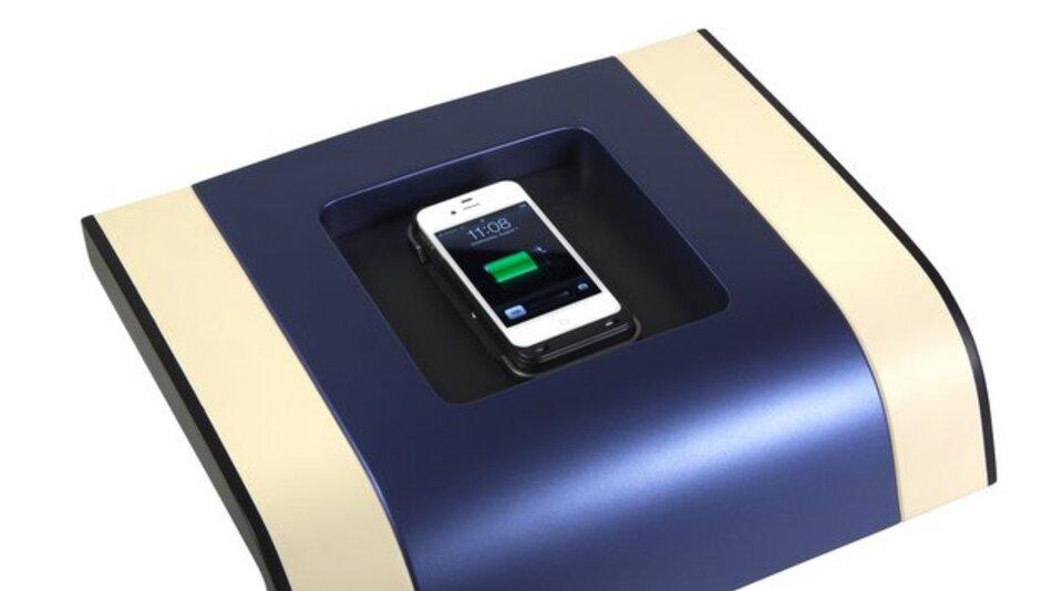 Visteons kabelloses Smartphone-Ladesystem.