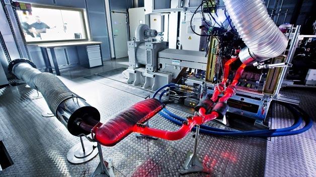 Das neue Motorenzentrum von Skoda im tschechischen Mlada Boleslav ist mit 21 Motorprüfständen ausgestattet.