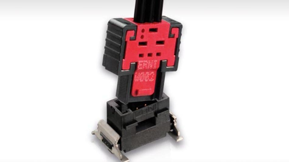 MiniBridge-Steckverbinder mit Koshiri-Sicherheit von Erni Electronics.