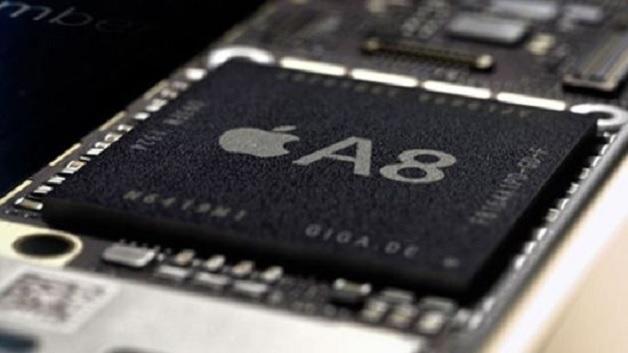 Apples A8-Prozessor treibt das iPhone 6 an.